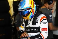 Baku City Circuit, Baku, Azerbaijan.Saturday 24 June 2017.Fernando Alonso, McLaren.Photo: Steven Tee/McLarenref: Digital Image _R3I3223