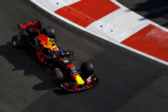 BAKU, AZERBAIJAN - JUNE 25: Max Verstappen of the Netherlands driving the (33) Red Bull Racing Red Bull-TAG Heuer RB13 TAG Heuer on track during the Azerbaijan Formula One Grand Prix at Baku City Circuit on June 25, 2017 in Baku, Azerbaijan. (Photo by Getty Images/Getty Images) // Getty Images / Red Bull Content Pool // P-20170625-01219 // Usage for editorial use only // Please go to www.redbullcontentpool.com for further information. //
