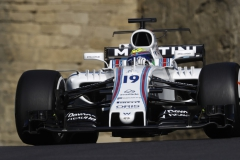 Baku City Circuit, Baku, Azerbaijan.Friday 23 June 2017.Felipe Massa, Williams FW40 Mercedes.Photo: Steven Tee/Williamsref: Digital Image _O3I1062