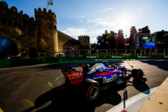 BAKU, AZERBAIJAN - JUNE 23: Carlos Sainz of Scuderia Toro Rosso and Spain uring practice for the Azerbaijan Formula One Grand Prix at Baku City Circuit on June 23, 2017 in Baku, Azerbaijan. (Photo by Peter Fox/Getty Images) // Getty Images / Red Bull Content Pool // P-20170623-01776 // Usage for editorial use only // Please go to www.redbullcontentpool.com for further information. //