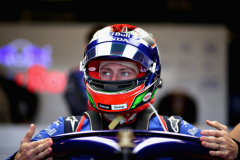 AUSTIN, TX - OCTOBER 20: Brendon Hartley of New Zealand and Scuderia Toro Rosso prepares to drive in the garage during qualifying for the United States Formula One Grand Prix at Circuit of The Americas on October 20, 2018 in Austin, United States.  (Photo by Peter Fox/Getty Images) // Getty Images / Red Bull Content Pool  // AP-1X8XHV8EN1W11 // Usage for editorial use only // Please go to www.redbullcontentpool.com for further information. //