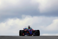 AUSTIN, TX - OCTOBER 21: Brendon Hartley of New Zealand driving the (39) Scuderia Toro Rosso STR12 on track during final practice for the United States Formula One Grand Prix at Circuit of The Americas on October 21, 2017 in Austin, Texas. (Photo by Mark Thompson/Getty Images) // Getty Images / Red Bull Content Pool // P-20171021-01139 // Usage for editorial use only // Please go to www.redbullcontentpool.com for further information. //