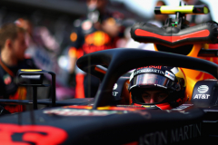 AUSTIN, TX - OCTOBER 21:  Max Verstappen of Netherlands and Red Bull Racing prepares to drive on the grid before the United States Formula One Grand Prix at Circuit of The Americas on October 21, 2018 in Austin, United States.  (Photo by Dan Istitene/Getty Images) // Getty Images / Red Bull Content Pool  // AP-1X97QS9F91W11 // Usage for editorial use only // Please go to www.redbullcontentpool.com for further information. //