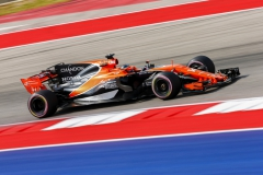 Circuit of the Americas, Austin, Texas, United States of America.Friday 20 October 2017.Fernando Alonso, McLaren MCL32 Honda.Photo: Andrew Hone/McLarenref: Digital Image _ONZ6741