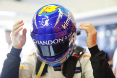 Silverstone Circuit, Northamptonshire, UKSaturday 7 July 2018.Fernando Alonso, McLaren.Photo: Steven Tee/McLarenref: Digital Image _2ST5686