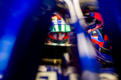 NORTHAMPTON, ENGLAND - JULY 06:  Brendon Hartley of Scuderia Toro Rosso and New Zealand during practice for the Formula One Grand Prix of Great Britain at Silverstone on July 6, 2018 in Northampton, England.  (Photo by Peter Fox/Getty Images) // Getty Images / Red Bull Content Pool  // AP-1W6S2KGY52111 // Usage for editorial use only // Please go to www.redbullcontentpool.com for further information. //