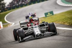 99 GIOVINAZZI Antonio (ita), Alfa Romeo Racing C38, action during the 2019 Formula One World Championship, Grand Prix of England from july 11 to 14,  in Silverstone, Great Britain - Photo DPPI
