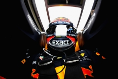 NORTHAMPTON, ENGLAND - JULY 14: Max Verstappen of Netherlands and Red Bull Racing prepares to drive during practice for the Formula One Grand Prix of Great Britain at Silverstone on July 14, 2017 in Northampton, England. Photo by Max Verstappen from inside his car. (Photo by Mark Thompson/Getty Images) // Getty Images / Red Bull Content Pool // P-20170714-00676 // Usage for editorial use only // Please go to www.redbullcontentpool.com for further information. //