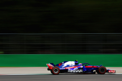 MONZA, ITALY - SEPTEMBER 01: Pierre Gasly of France and Scuderia Toro Rosso driving the (10) Scuderia Toro Rosso STR13 Honda on track during final practice for the Formula One Grand Prix of Italy at Autodromo di Monza on September 1, 2018 in Monza, Italy.  (Photo by Mark Thompson/Getty Images) // Getty Images / Red Bull Content Pool  // AP-1WS291H8H1W11 // Usage for editorial use only // Please go to www.redbullcontentpool.com for further information. //
