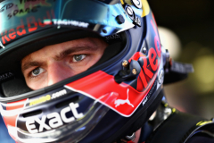 MONZA, ITALY - AUGUST 30:  Max Verstappen of Netherlands and Red Bull Racing prepares for a seat fitting in the garage during previews ahead of the Formula One Grand Prix of Italy at Autodromo di Monza on August 30, 2018 in Monza, Italy.  (Photo by Mark Thompson/Getty Images) // Getty Images / Red Bull Content Pool  // AP-1WRF7THXS1W11 // Usage for editorial use only // Please go to www.redbullcontentpool.com for further information. //