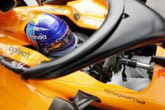 Monza, Italy.Friday 31 August 2018.Fernando Alonso, McLaren.Photo: Steven Tee/McLarenref: Digital Image _1ST6202
