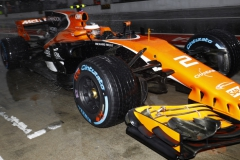 Autodromo Nazionale di Monza, Italy.Saturday 2 September 2017.Stoffel Vandoorne, McLaren MCL32 Honda, in the pits.Photo: Steven Tee/McLarenref: Digital Image _O3I5048