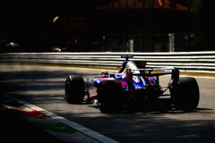 MONZA, ITALY - SEPTEMBER 01: Daniil Kvyat of Russia driving the (26) Scuderia Toro Rosso STR12 on track during practice for the Formula One Grand Prix of Italy at Autodromo di Monza on September 1, 2017 in Monza, Italy. (Photo by Dan Istitene/Getty Images) // Getty Images / Red Bull Content Pool // P-20170901-02690 // Usage for editorial use only // Please go to www.redbullcontentpool.com for further information. //