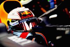 MELBOURNE, AUSTRALIA - MARCH 17: Max Verstappen of Netherlands and Red Bull Racing prepares to drive in the garage before the F1 Grand Prix of Australia at Melbourne Grand Prix Circuit on March 17, 2019 in Melbourne, Australia.  (Photo by Mark Thompson/Getty Images) // Getty Images / Red Bull Content Pool  // AP-1YRDVF4651W11 // Usage for editorial use only // Please go to www.redbullcontentpool.com for further information. //