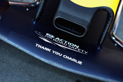 MELBOURNE, AUSTRALIA - MARCH 17: A tribute to the late FIA Race Director, Charlie Whiting is seen on the front wing of the Red Bull Racing RB15 before the F1 Grand Prix of Australia at Melbourne Grand Prix Circuit on March 17, 2019 in Melbourne, Australia.  (Photo by Robert Cianflone/Getty Images) // Getty Images / Red Bull Content Pool  // AP-1YRB43R892111 // Usage for editorial use only // Please go to www.redbullcontentpool.com for further information. //