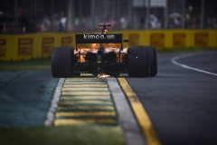 Albert Park, Melbourne, Australia.Sunday 25 March 2018.Fernando Alonso, McLaren MCL33 Renault. Photo: Glenn Dunbar/McLarenref: Digital Image _X4I9543