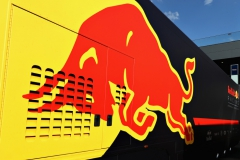 SPIELBERG, AUSTRIA - JULY 07: Red Bull Racing truck in the Paddock during practice for the Formula One Grand Prix of Austria at Red Bull Ring on July 7, 2017 in Spielberg, Austria. (Photo by Mark Thompson/Getty Images) // Getty Images / Red Bull Content Pool // P-20170707-04132 // Usage for editorial use only // Please go to www.redbullcontentpool.com for further information. //