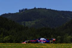 SPIELBERG, AUSTRIA - JUNE 29: Daniil Kvyat driving the (26) Scuderia Toro Rosso STR14 Honda on track during final practice for the F1 Grand Prix of Austria at Red Bull Ring on June 29, 2019 in Spielberg, Austria. (Photo by Mark Thompson/Getty Images) // Getty Images / Red Bull Content Pool  // AP-1ZSXAZPK91W11 // Usage for editorial use only // Please go to www.redbullcontentpool.com for further information. //