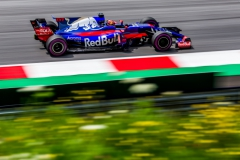 SPIELBERG, AUSTRIA - JULY 08: Daniil Kvyat of Scuderia Toro Rosso and Russia during qualifying for the Formula One Grand Prix of Austria at Red Bull Ring on July 8, 2017 in Spielberg, Austria. (Photo by Peter Fox/Getty Images) // Getty Images / Red Bull Content Pool // P-20170708-02718 // Usage for editorial use only // Please go to www.redbullcontentpool.com for further information. //