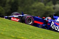 SPIELBERG, AUSTRIA - JULY 08: Daniil Kvyat of Russia driving the (26) Scuderia Toro Rosso STR12 on track during final practice for the Formula One Grand Prix of Austria at Red Bull Ring on July 8, 2017 in Spielberg, Austria. (Photo by Mark Thompson/Getty Images) // Getty Images / Red Bull Content Pool // P-20170708-00994 // Usage for editorial use only // Please go to www.redbullcontentpool.com for further information. //