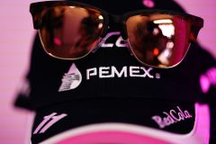 The cap of Sergio Perez, Racing Point