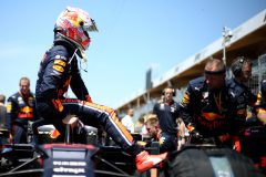 MONTREAL, QUEBEC - JUNE 09: Max Verstappen of Netherlands and Red Bull Racing prepares to drive on the grid during the F1 Grand Prix of Canada at Circuit Gilles Villeneuve on June 09, 2019 in Montreal, Canada. (Photo by Charles Coates/Getty Images) // Getty Images / Red Bull Content Pool  // AP-1ZKMJPX3D1W11 // Usage for editorial use only // Please go to www.redbullcontentpool.com for further information. //