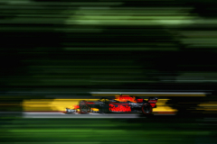 MONTREAL, QC - JUNE 08: Max Verstappen of the Netherlands driving the (33) Aston Martin Red Bull Racing RB14 TAG Heuer on track during practice for the Canadian Formula One Grand Prix at Circuit Gilles Villeneuve on June 8, 2018 in Montreal, Canada.  (Photo by Mark Thompson/Getty Images) // Getty Images / Red Bull Content Pool  // AP-1VWT8DRH92111 // Usage for editorial use only // Please go to www.redbullcontentpool.com for further information. //