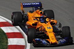 Circuit Gilles-Villeneuve, Montreal, CanadaFriday 8 June 2018.Fernando Alonso, McLaren MCL33 Renault.Photo: Zak Mauger/McLarenref: Digital Image _56I1043