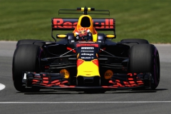 MONTREAL, QC - JUNE 10: Max Verstappen of the Netherlands driving the (33) Red Bull Racing Red Bull-TAG Heuer RB13 TAG Heuer on track during qualifying for the Canadian Formula One Grand Prix at Circuit Gilles Villeneuve on June 10, 2017 in Montreal, Canada. (Photo by Mark Thompson/Getty Images) // Getty Images / Red Bull Content Pool // P-20170610-01450 // Usage for editorial use only // Please go to www.redbullcontentpool.com for further information. //