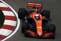 Circuit Gilles Villeneuve, Montreal, Canada.Friday 9 June 2017.Fernando Alonso, McLaren MCL32 Honda.Photo: Andrew Hone/McLarenref: Digital Image _ONY3383
