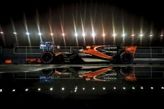 Marina Bay Circuit, Marina Bay, Singapore.Sunday 17 September 2017.Fernando Alonso, McLaren MCL32 Honda.Photo: Glenn Dunbar/McLarenref: Digital Image DSC05289