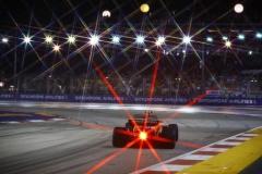 Marina Bay Circuit, Marina Bay, Singapore.Sunday 17 September 2017.Stoffel Vandoorne, McLaren MCL32 Honda. Photo: Steven Tee/McLarenref: Digital Image _O3I0787