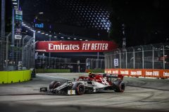 99 GIOVINAZZI Antonio (ita), Alfa Romeo Racing C38, action during the 2019 Formula One World Championship, Singapore Grand Prix from September 19 to 22 in Singapour - Photo Florent Gooden / DPPI