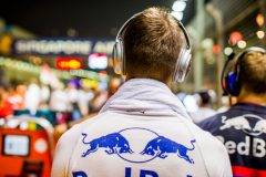 SINGAPORE, SINGAPORE - SEPTEMBER 22: Daniil Kvyat of Scuderia Toro Rosso and Russia during the F1 Grand Prix of Singapore at Marina Bay Street Circuit on September 22, 2019 in Singapore. (Photo by Peter Fox/Getty Images) // Getty Images / Red Bull Content Pool  // AP-21NB3C3552111 // Usage for editorial use only //
