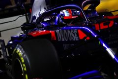 SINGAPORE, SINGAPORE - SEPTEMBER 22: Pierre Gasly of France driving the (10) Scuderia Toro Rosso STR14 Honda on track during the F1 Grand Prix of Singapore at Marina Bay Street Circuit on September 22, 2019 in Singapore. (Photo by Mark Thompson/Getty Images) // Getty Images / Red Bull Content Pool  // AP-21NB6JPWN2111 // Usage for editorial use only //