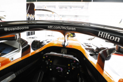 Circuit de Catalunya-Barcelona, SpainFriday 11 May 2018.Inside the cockpit of Stoffel Vandoorne, McLaren MCL33 Renault.Photo: Steven Tee/McLarenref: Digital Image _2ST5825