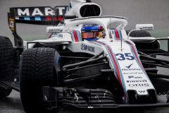 Hockenheimring, Hockenheim, GermanySaturday 21 July 2018.Sergey Sirotkin, Williams FW41 Mercedes.Photo: Zak Mauger/Williams F1ref: Digital Image _56I1607