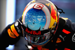HOCKENHEIM, GERMANY - JULY 21:  Daniel Ricciardo of Australia and Red Bull Racing prepares to drive during final practice for the Formula One Grand Prix of Germany at Hockenheimring on July 21, 2018 in Hockenheim, Germany.  (Photo by Mark Thompson/Getty Images) // Getty Images / Red Bull Content Pool  // AP-1WBHDAAW51W11 // Usage for editorial use only // Please go to www.redbullcontentpool.com for further information. //