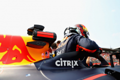 HOCKENHEIM, GERMANY - JULY 22:  Daniel Ricciardo of Australia and Red Bull Racing prepares to drive on the grid before the Formula One Grand Prix of Germany at Hockenheimring on July 22, 2018 in Hockenheim, Germany.  (Photo by Mark Thompson/Getty Images) // Getty Images / Red Bull Content Pool  // AP-1WBWVWTP92111 // Usage for editorial use only // Please go to www.redbullcontentpool.com for further information. //