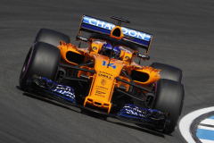 Hockenheimring, Hockenheim, GermanyFriday 20 July 2018.Fernando Alonso, McLaren MCL33 Renault.Photo: Steven Tee/McLarenref: Digital Image _2ST0306