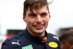 HOCKENHEIM, GERMANY - JULY 28: Race winner Max Verstappen of Netherlands and Red Bull Racing celebrates in parc ferme during the F1 Grand Prix of Germany at Hockenheimring on July 28, 2019 in Hockenheim, Germany. (Photo by Mark Thompson/Getty Images) // Getty Images / Red Bull Content Pool  // AP-213BGSAXH2511 // Usage for editorial use only // Please go to www.redbullcontentpool.com for further information. //