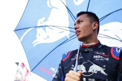 HOCKENHEIM, GERMANY - JULY 28: Alexander Albon of Thailand and Scuderia Toro Rosso prepares to drive on the grid before the F1 Grand Prix of Germany at Hockenheimring on July 28, 2019 in Hockenheim, Germany. (Photo by Peter Fox/Getty Images) // Getty Images / Red Bull Content Pool  // AP-2139Z88B52511 // Usage for editorial use only // Please go to www.redbullcontentpool.com for further information. //