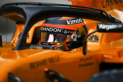Hungaroring, Budapest, Hungary.Saturday 28 July 2018.Stoffel Vandoorne, McLaren MCL33 Renault.Photo: Glenn Dunbar/McLarenref: Digital Image _31I2417