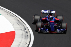 BUDAPEST, HUNGARY - JULY 29: Carlos Sainz of Spain driving the (55) Scuderia Toro Rosso STR12 on track during qualifying for the Formula One Grand Prix of Hungary at Hungaroring on July 29, 2017 in Budapest, Hungary. (Photo by Mark Thompson/Getty Images) // Getty Images / Red Bull Content Pool // P-20170729-00651 // Usage for editorial use only // Please go to www.redbullcontentpool.com for further information. //