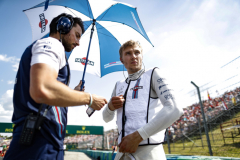 Hungaroring, Budapest, Hungary.Sunday 29 July 2018.Sergey Sirotkin, Williams Racing, on the grid.Photo: Glenn Dunbar/Williams F1ref: Digital Image _X4I2099