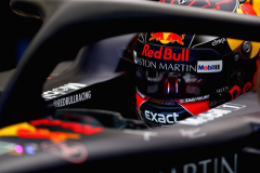 BUDAPEST, HUNGARY - JULY 27: Max Verstappen of Netherlands and Red Bull Racing prepares to drive in the garage during practice for the Formula One Grand Prix of Hungary at Hungaroring on July 27, 2018 in Budapest, Hungary.  (Photo by Dan Istitene/Getty Images) // Getty Images / Red Bull Content Pool  // AP-1WDE264RW2511 // Usage for editorial use only // Please go to www.redbullcontentpool.com for further information. //