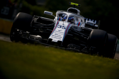 Hungaroring, Budapest, Hungary.Friday 27 July 2018.Sergey Sirotkin, Williams FW41 Mercedes.Photo: Andy Hone/Williams F1ref: Digital Image _ONY3091