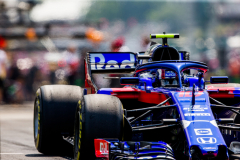 BUDAPEST, HUNGARY - JULY 27:  Pierre Gasly of Scuderia Toro Rosso and France  during practice for the Formula One Grand Prix of Hungary at Hungaroring on July 27, 2018 in Budapest, Hungary.  (Photo by Peter Fox/Getty Images) // Getty Images / Red Bull Content Pool  // AP-1WDH9NX291W11 // Usage for editorial use only // Please go to www.redbullcontentpool.com for further information. //