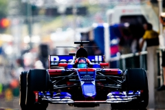 BUDAPEST, HUNGARY - JULY 28: Daniil Kvyat of Scuderia Toro Rosso and Russia during practice for the Formula One Grand Prix of Hungary at Hungaroring on July 28, 2017 in Budapest, Hungary. (Photo by Peter Fox/Getty Images) // Getty Images / Red Bull Content Pool // P-20170728-02123 // Usage for editorial use only // Please go to www.redbullcontentpool.com for further information. //