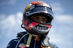 BUDAPEST, HUNGARY - JULY 30: Max Verstappen of Netherlands and Red Bull Racing prepares to drive on the grid before the Formula One Grand Prix of Hungary at Hungaroring on July 30, 2017 in Budapest, Hungary. (Photo by Lars Baron/Getty Images) // Getty Images / Red Bull Content Pool // P-20170730-01037 // Usage for editorial use only // Please go to www.redbullcontentpool.com for further information. //